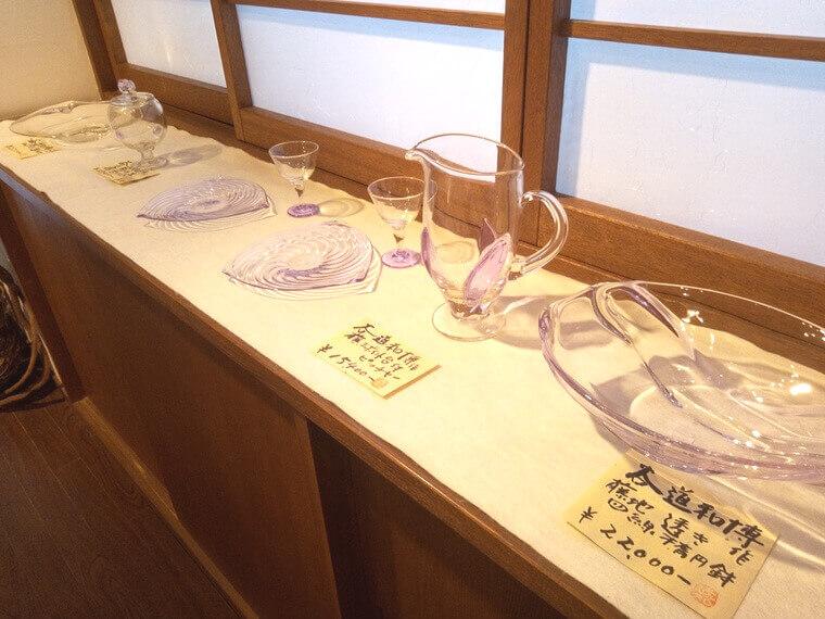 谷道和博 藤地透き四緑楕円鉢